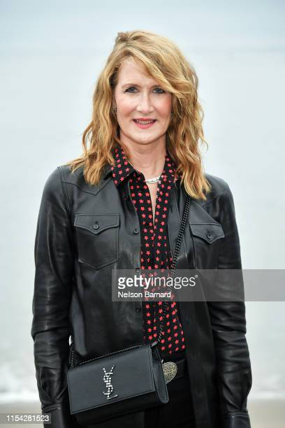 Laura Dern attends the Saint Laurent Mens Spring Summer 20 Show on June 06, 2019 in Paradise Cove Malibu, California.