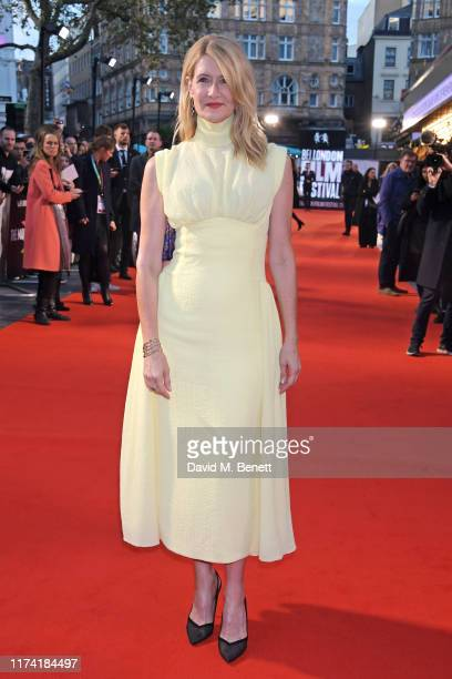 """Laura Dern attends the UK Premiere of """"Marriage Story"""" during the 63rd BFI London Film Festival at Odeon Luxe Leicester Square on October 6, 2019 in..."""