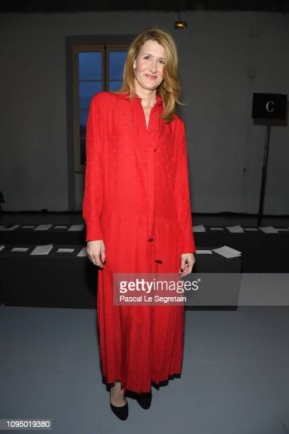 Laura Dern attends the Valentino Menswear Fall/Winter 20192020 show as part of Paris Fashion Week on January 16 2019 in Paris France