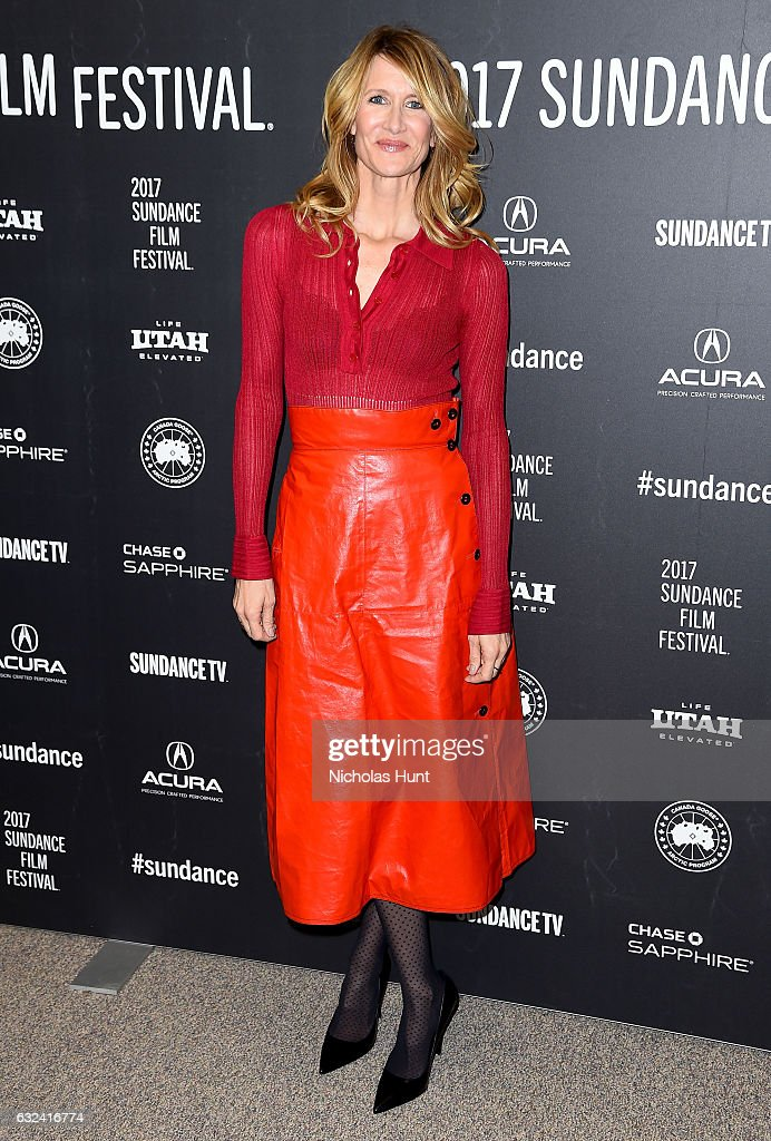 Laura Dern attends the 'Wilson' Premiere on day 4 of the 2017 Sundance Film Festival at Eccles Center Theatre on January 22, 2017 in Park City, Utah.