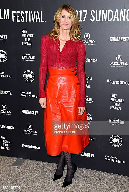 Laura Dern attends the Wilson Premiere on day 4 of the 2017 Sundance Film Festival at Eccles Center Theatre on January 22 2017 in Park City Utah
