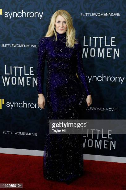 Laura Dern attends the world premiere of Little Women at Museum of Modern Art on December 07 2019 in New York City