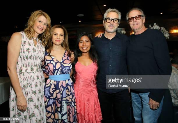 Laura Dern, Marina De Tavira, Yalitza Aparicio, Alfonso Cuarón and Peter Fonda attend the 'Roma' Tastemakers Reception at Craig's on November 18,...