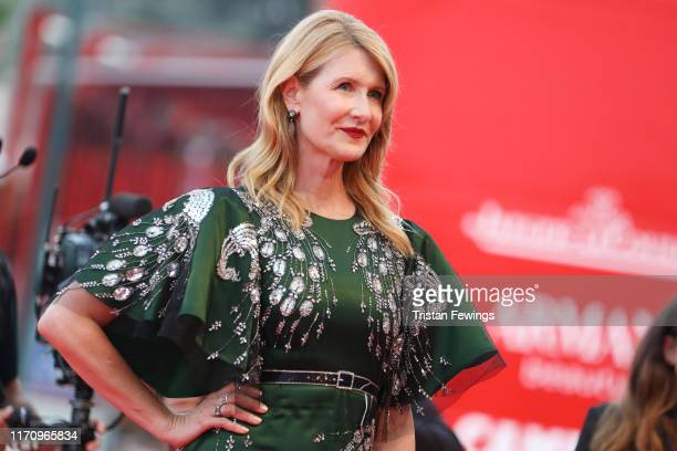Laura Dern walks the red carpet ahead of the Marriage Story screening during during the 76th Venice Film Festival at Sala Grande on August 29 2019 in...