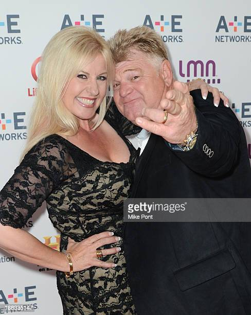 Laura Dotson and Dan Dotson of 'Storage Wars' attend A+E Networks 2013 Upfront at Lincoln Center on May 8, 2013 in New York City.