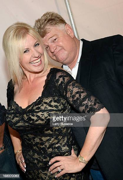 Laura Dotson and Dan Dotson of Storage Wars attend the AE Networks 2013 Upfront on May 8 2013 in New York City