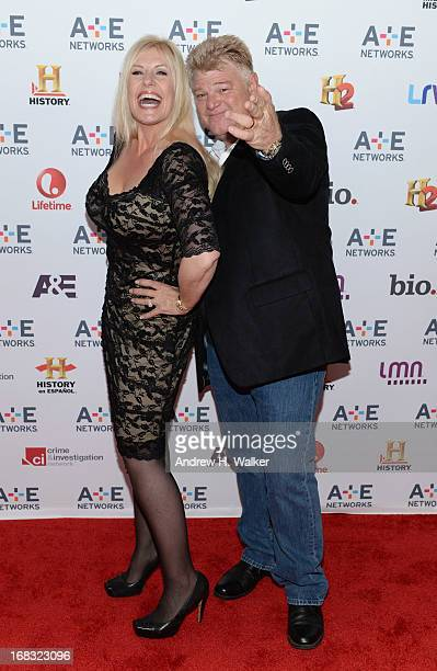 "Laura Dotson and Dan Dotson of ""Storage Wars"" attend the A+E Networks 2013 Upfront on May 8, 2013 in New York City."