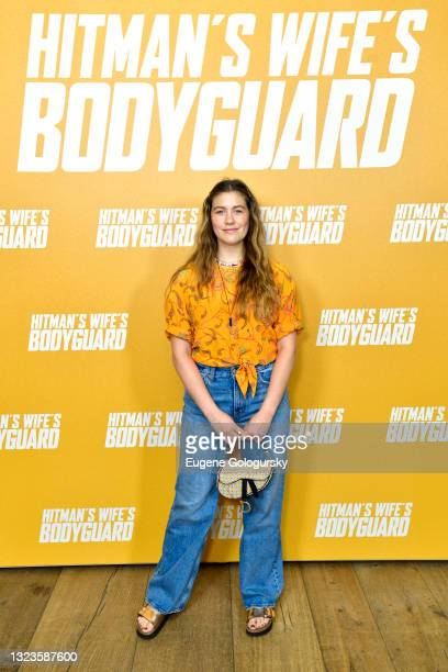 """Laura Drefuss attends the """"Hitman's Wife's Bodyguard"""" special screening at Crosby Street Hotel on June 14, 2021 in New York City."""