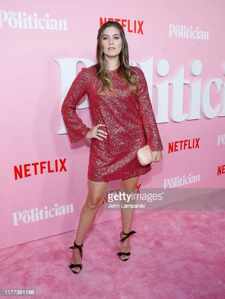 """Laura Dreyfuss attends """"The Politician"""" New York Premiere at DGA Theater on September 26, 2019 in New York City."""