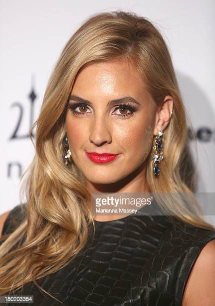 Laura Dundovic arrives at the Men's Style 10th Birthday Party at The Ivy on September 10 2013 in Sydney Australia