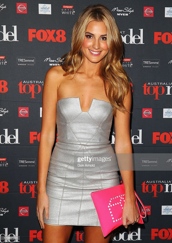 Laura Dundovic poses at the launch of Australia's Next Top Model Season 8 at Doltone House on July 4, 2013 in Sydney, Australia.