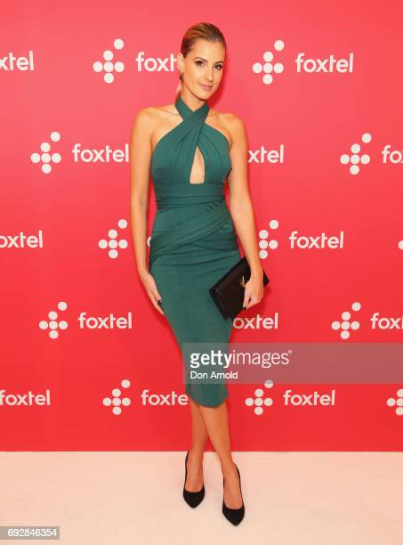 Laura Dundovic poses during a Foxtel Event at Hordern Pavilion on June 6 2017 in Sydney Australia