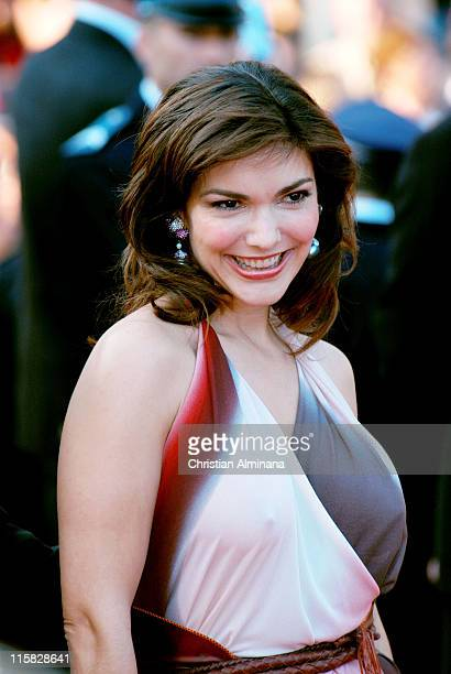 Laura Elena Harring during 2004 Cannes Film Festival 'Bad Santa' and 'Motorcycle Diaries' Premiere at Palais Du Festival in Cannes France