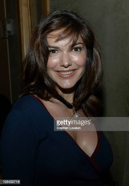 Laura Elena Harring during 3rd Annual Tribeca Film Festival Showtime Party at Nobu in New York City New York United States