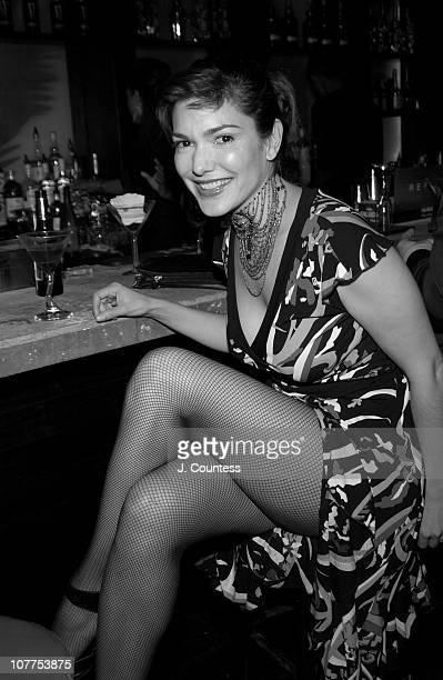 Laura Elena Harring during 3rd Annual Tribeca Film Festval Premiere Lounge 'Stage Beauty' Premiere After Party at 323 Lounge in New York City New...