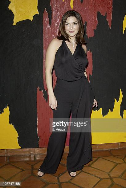 Laura Elena Harring during amfAR and the Diamond Information Center Honor Dame Elizabeth Taylor with the FirstEver Diamond Icon Award at Fredrick R...