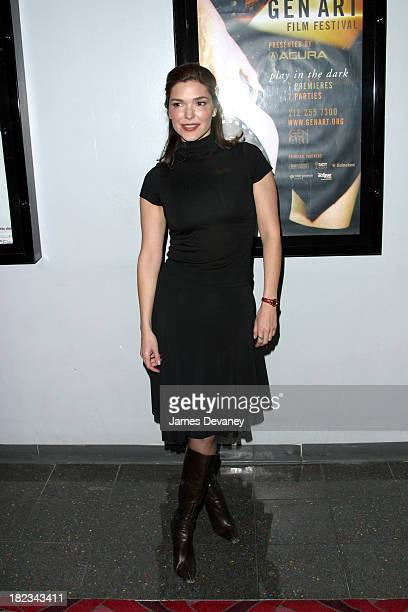Laura Elena Harring during New York Premiere of XX/XY at the Gen Art Eighth Annual Film Festival at Loews Astor Plaza in New York City New York...