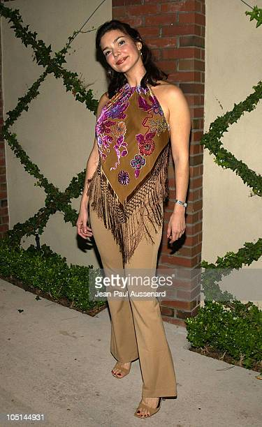 Laura Elena Harring during Outfest Film Festival 'Put the Camera on Me' Party in Hollywood United States