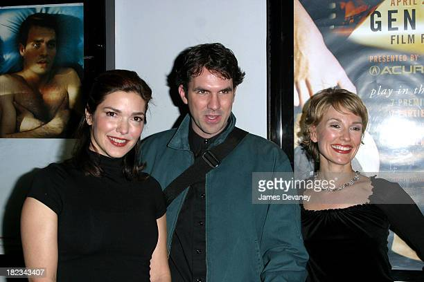 Laura Elena Harring Paul Schneider and Petra Wright