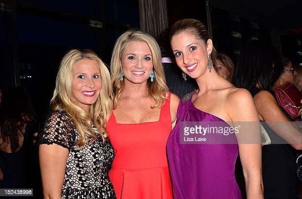 Laura Elliott Jillian Mele and Kellie Hill attend the Philadelphia Style Magazine Cover Event Hosted By Carson Kressley on September 20 2012 in...