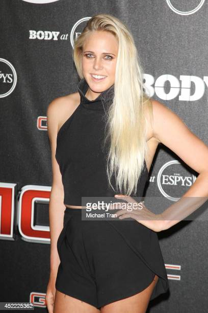 Laura Enever arrives at the BODY at ESPYS PreParty held at Lure on July 15 2014 in Hollywood California
