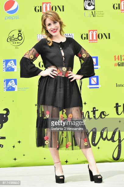 Laura Esquivel attends Giffoni Film Festival 2017 Day 5 Photocall on July 18 2017 in Giffoni Valle Piana Italy