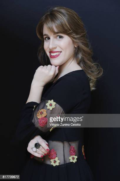 Laura Esquivel poses for a portrait session during Giffoni Film Festival on July 18, 2017 in Giffoni Valle Piana, Italy.