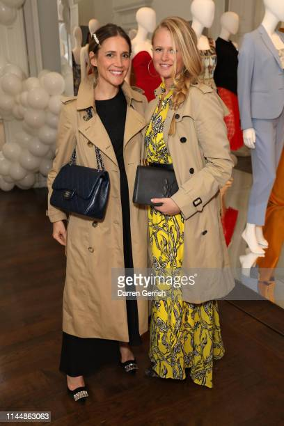 Laura Fantacci and Petro Stofberg attend the Outnet's 10th Anniversary Dinner on April 24 2019 in London England