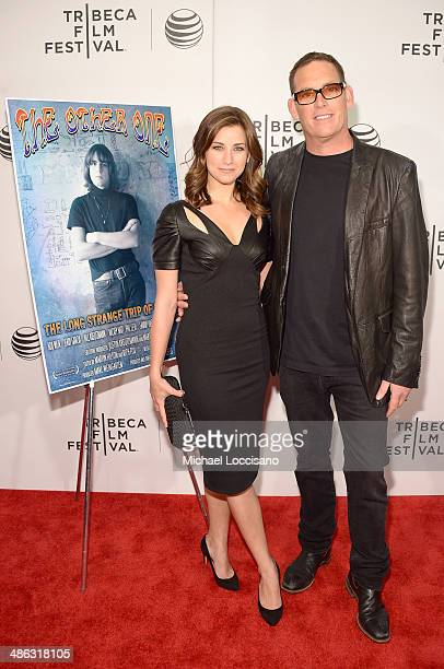 Laura Fleiss and Mike Fleiss attend the The Other One The Long Strange Trip of Bob Weir Premiere during the 2014 Tribeca Film Festival at BMCC...