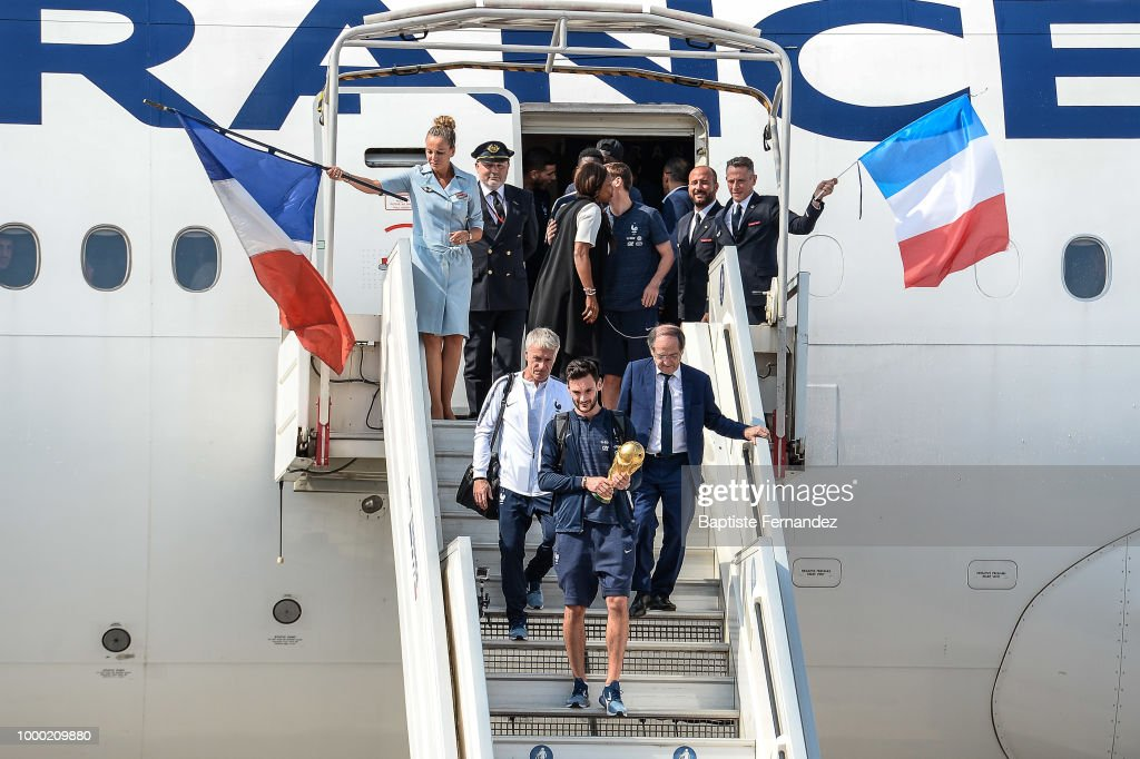 France Welcome Home Celebration - FIFA World Cup 2018