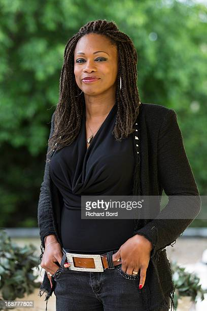 Laura Flessel poses during the 'Peace and Sport' France launch at Pavillon Ledoyen on May 15 2013 in Paris France