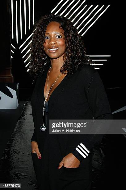 Laura FlesselColovic attends the Y3 Menswear Fall/Winter 20142015 Show as part of Paris Fashion Week on January 19 2014 in Paris France