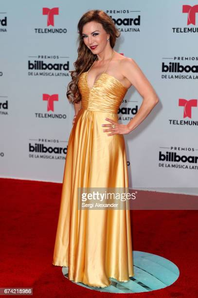Laura Flores attends the Billboard Latin Music Awards at Watsco Center on April 27 2017 in Coral Gables Florida