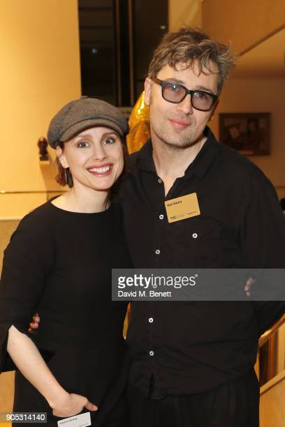 Laura Fraser and Karl Geary attend The Writers' Guild Awards 2018 held at Royal College Of Physicians on January 15 2018 in London England