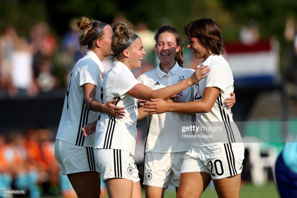 Germany U20 Girl's v Netherlands U20 Girl's - International Friendly