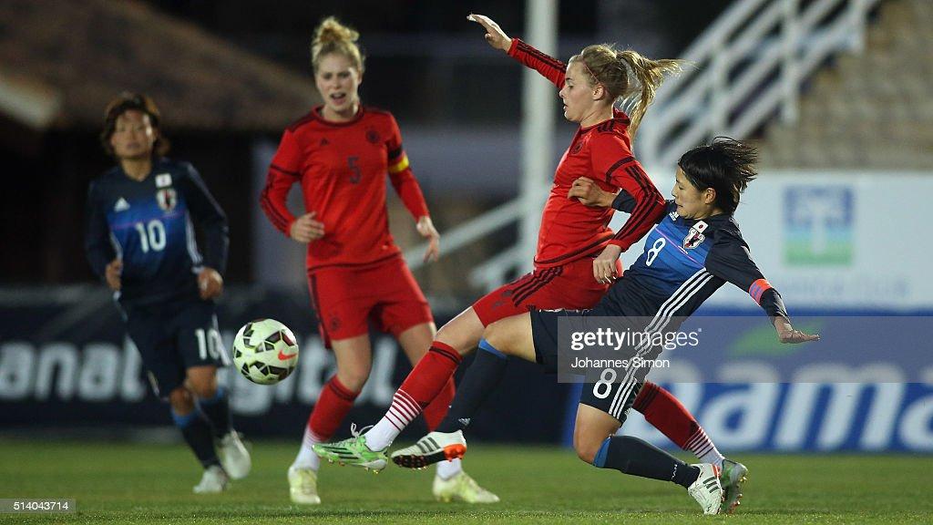 Germany U20 Women's v Japan U23 Women's - WU23 Tournament 2016 : News Photo