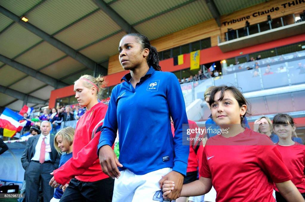 Laura GEORGES - - France / Belgique - Match Amical - Preparation a la Coupe du Monde -Stade de L'Epopee-Calais,