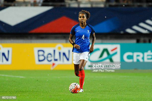 Laura GEORGES of France during the International friendly match between France women and Brazil women on September 16 2016 in Grenoble France