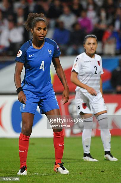 Laura Georges of France during the UEFA Women's EURO 2017 qualification match between France and Albania at Stade Charlety on September 20 2016 in...