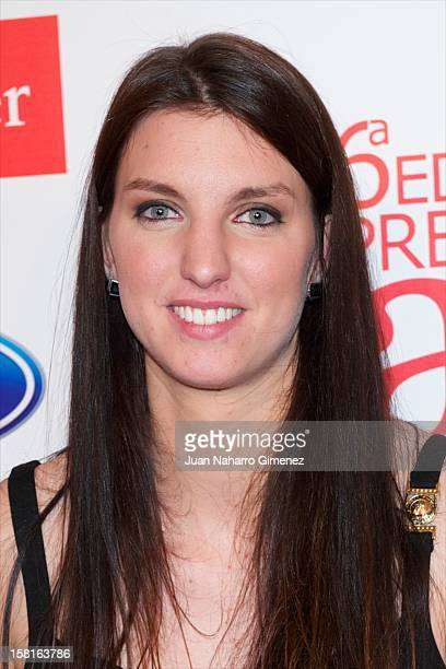 Laura Gil attends As del Deporte awards 2012 at Palace Hotel on December 10 2012 in Madrid Spain