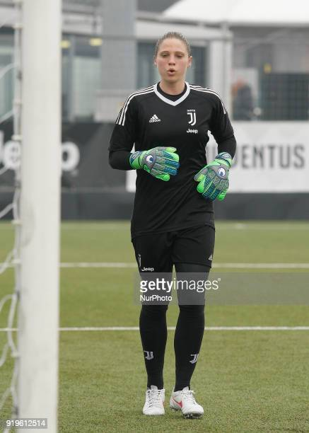Laura Giuliani during Serie A female match between Juventus Woman v Empoli Ladies in Vinovo Turin on February 17 2018