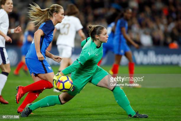 Laura Giuliani of Italia during the International friendly match between France and Italy at Stade Velodrome on January 20 2018 in Marseille France
