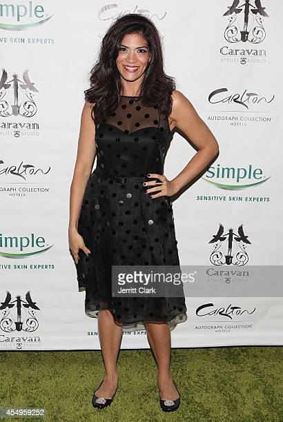 Laura Gomez attends the Simple Skincare & Caravan Stylist Studio Fashion Week Event on September 7, 2014 in New York City.