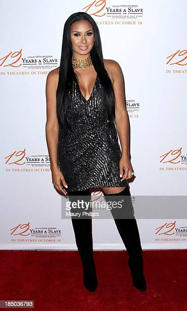 Laura Govan arrives at Fox Searchlight Pictures' '12 Years A Slave' Los Angeles special screening at Rave Baldwin Hills 15 Theatres on October 16...