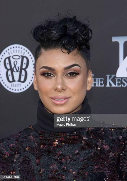 Laura Govan attends Couture Against Cancer hosted by Andre Drummond and Angel Brinks on February 17 2018 in Los Angeles California