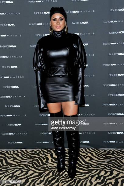 Laura Govan attends Fashion Nova x Cardi B Collection launch party at Hollywood Palladium on May 08 2019 in Los Angeles California
