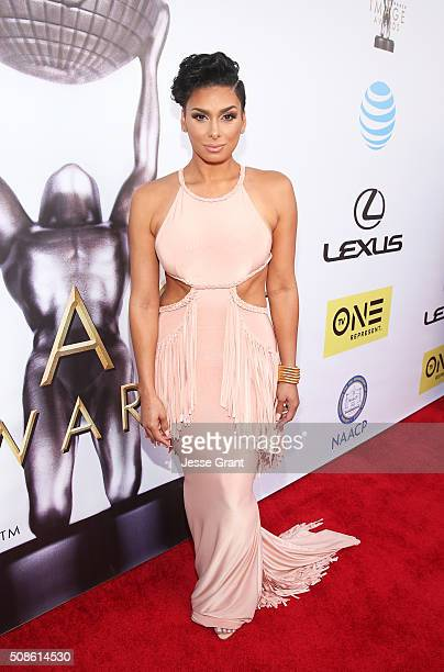 Laura Govan attends the 47th NAACP Image Awards presented by TV One at Pasadena Civic Auditorium on February 5 2016 in Pasadena California
