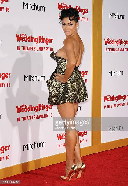 Laura Govan attends the premiere of 'The Wedding Ringer' at TCL Chinese Theatre on January 6 2015 in Hollywood California