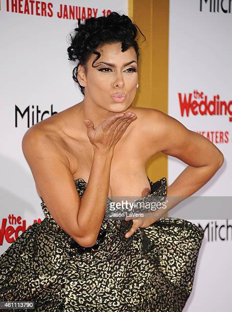 "Laura Govan attends the premiere of ""The Wedding Ringer"" at TCL Chinese Theatre on January 6, 2015 in Hollywood, California."