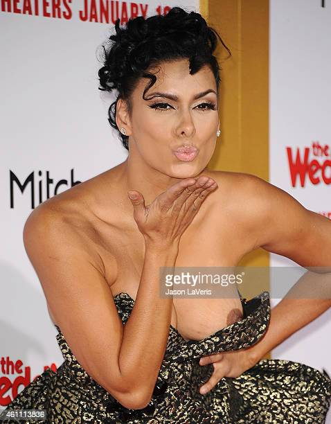 Laura Govan attends the premiere of The Wedding Ringer at TCL Chinese Theatre on January 6 2015 in Hollywood California